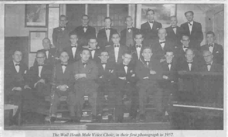 Wallheath Male Voice Choir 1957