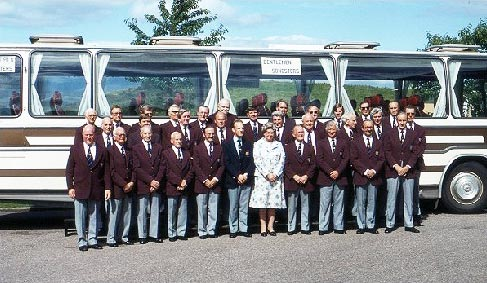 Gentlemen Songsters Tour of Scotland 1980