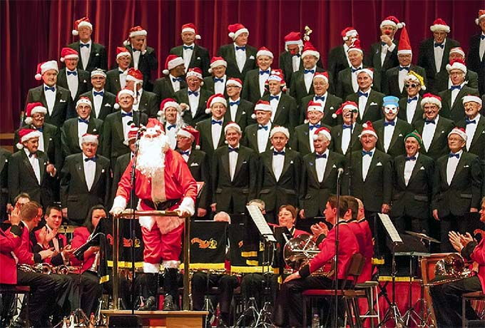 Father Christmas addresses Christmas Charity Concert