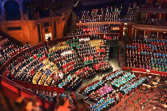Festival of Brass and Voices at the Royal Albert Hall