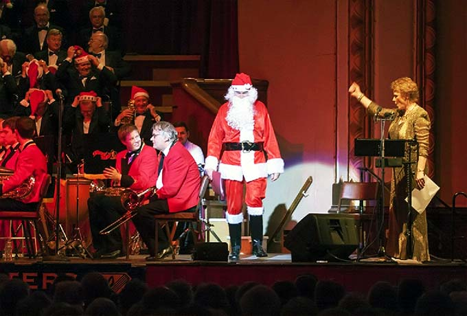 Santa at Christmas Charity Concert